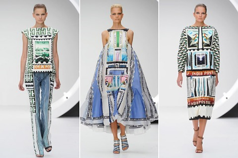 Mary Katrantzou—London Fashion Week