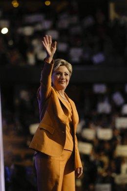 Sen. Hillary Clinton Addresses Convention