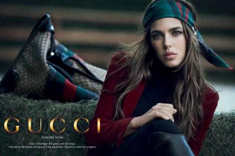 Charlotte Casiraghi Gucci