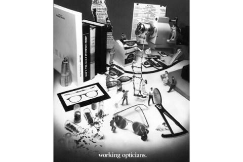 Working Opticians Advertisement