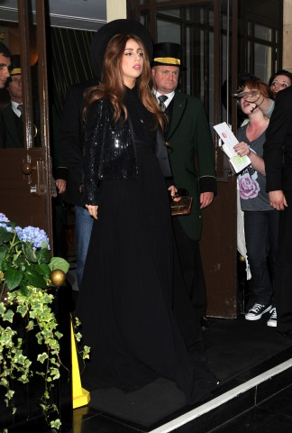 Lady Gaga Sighting In London - October 8, 2012