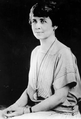 image: circa 1930: Grace Coolidge (1879 - 1957), nee Grace Goodhue, wife of Calvin Coolidge, the 30th President of the United States of America, who she married in 1905