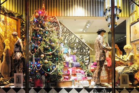 Henri Bendel Holiday Window Unveiling 2012