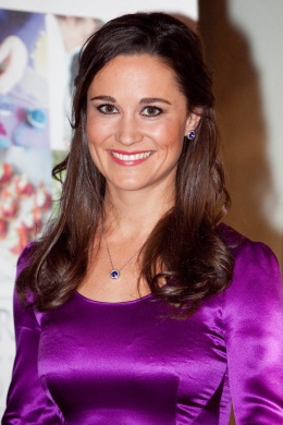 image: Pippa Middleton attends her book launch party for 'Celebrate' at De Vries Boekhandel in Haarlem, Netherlands, Dec. 11, 2012.