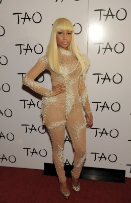 image: Nicki Minaj at TAO Nightclub at the Venetian on December 9, 2010 in Las Vegas, Nevada.