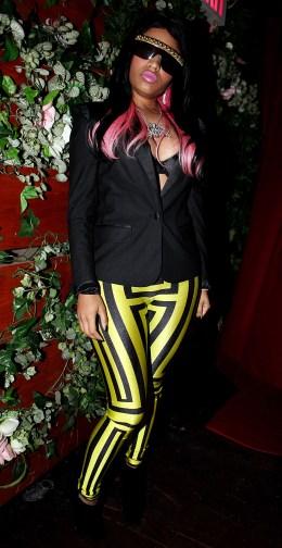 image: Nicki Minaj attends the M2 Ultra Lounge on December 26, 2009 in New York City