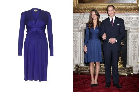 Kate Middleton Issa Maternity Dress