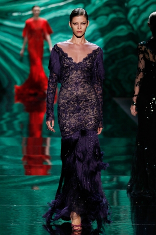 Monique Lhuillier - Runway - Fall 2013 Mercedes-Benz Fashion Week