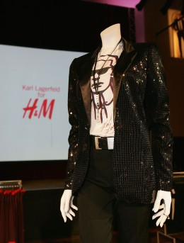 Karl Lagerfeld Presents New Collection For H&M