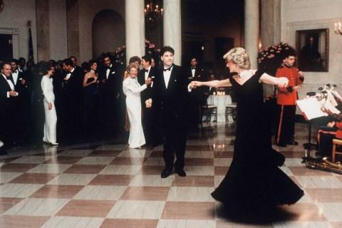 Diana And John Travolta Dance