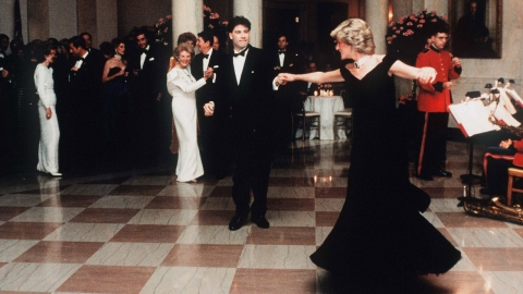 Diana And John Travolta Dance