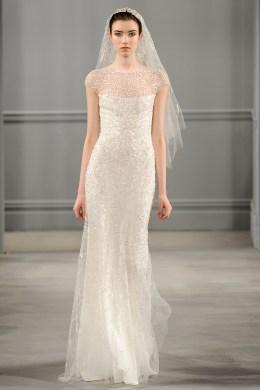 2014 Bridal Spring/Summer Collection - Monique Lhuillier Bride - Show