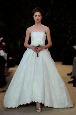 2014 Bridal Spring/Summer Collection - Carolina Herrera - Show