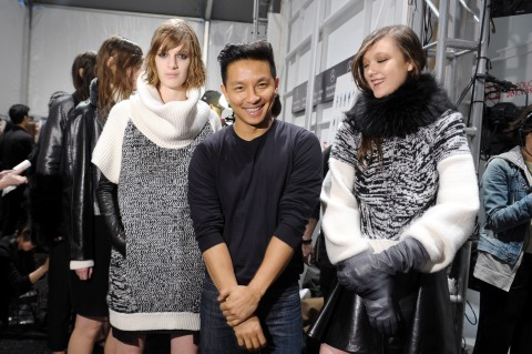 ICB By Prabal Gurung - Back Stage - Fall 2013 Mercedes-Benz Fashion Week