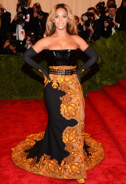 image: Beyoncé at the 2013 Met Gala