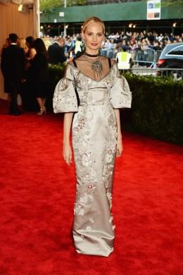 image: Vogue editor Lauren Santo Domingo at the 2013 Met Gala