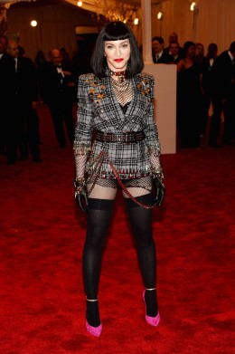 image: Madonna at the 2013 Met Gala