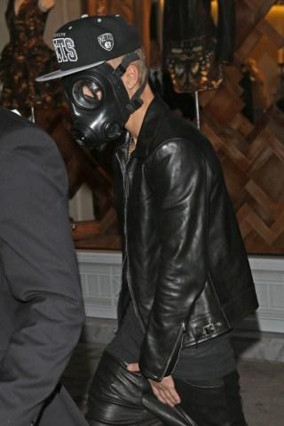 Justin Bieber Sighting In London - February 25, 2013