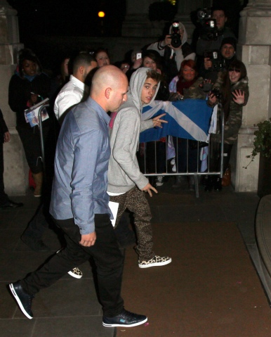 Celebrity Sightings In London - March 2, 2013